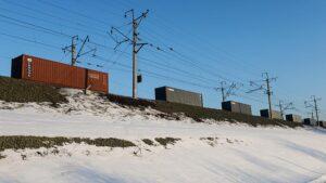 Read more about the article Сhính phủ Nga dự định giảm thời gian vận chuyển container đường sắt từ Khu liên bang Viễn Đông đến phía Tây Liên bang Nga